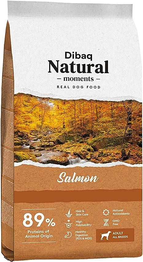 DIBAQ NATURAL MOMENTS Salmon. Alimento 100% Natural de salmón ...
