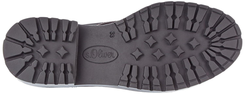 S.Oliver Rot Damen 26245 Combat Stiefel Rot S.Oliver (Bordeaux) 048981