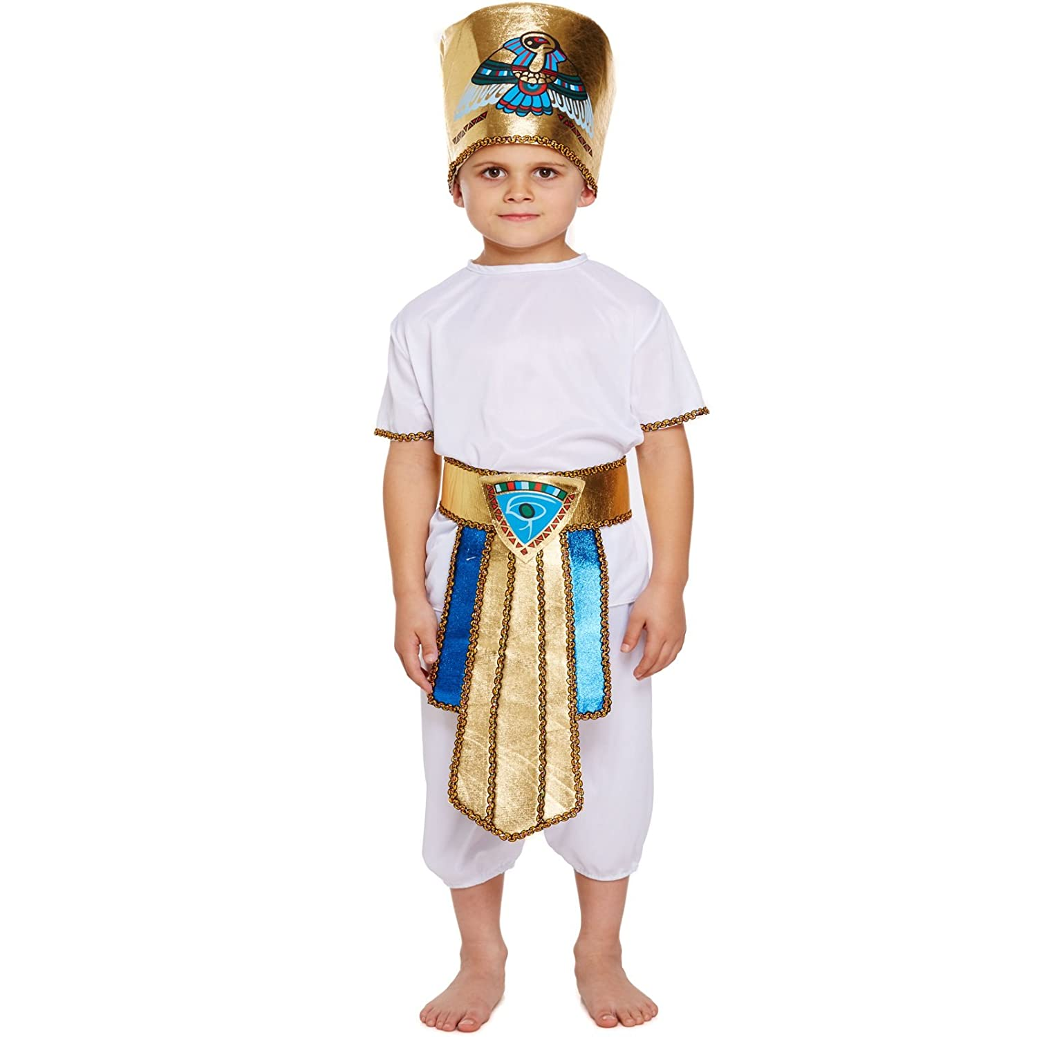 Ancient Egyptian King Tut Boy Outfit Child Costume