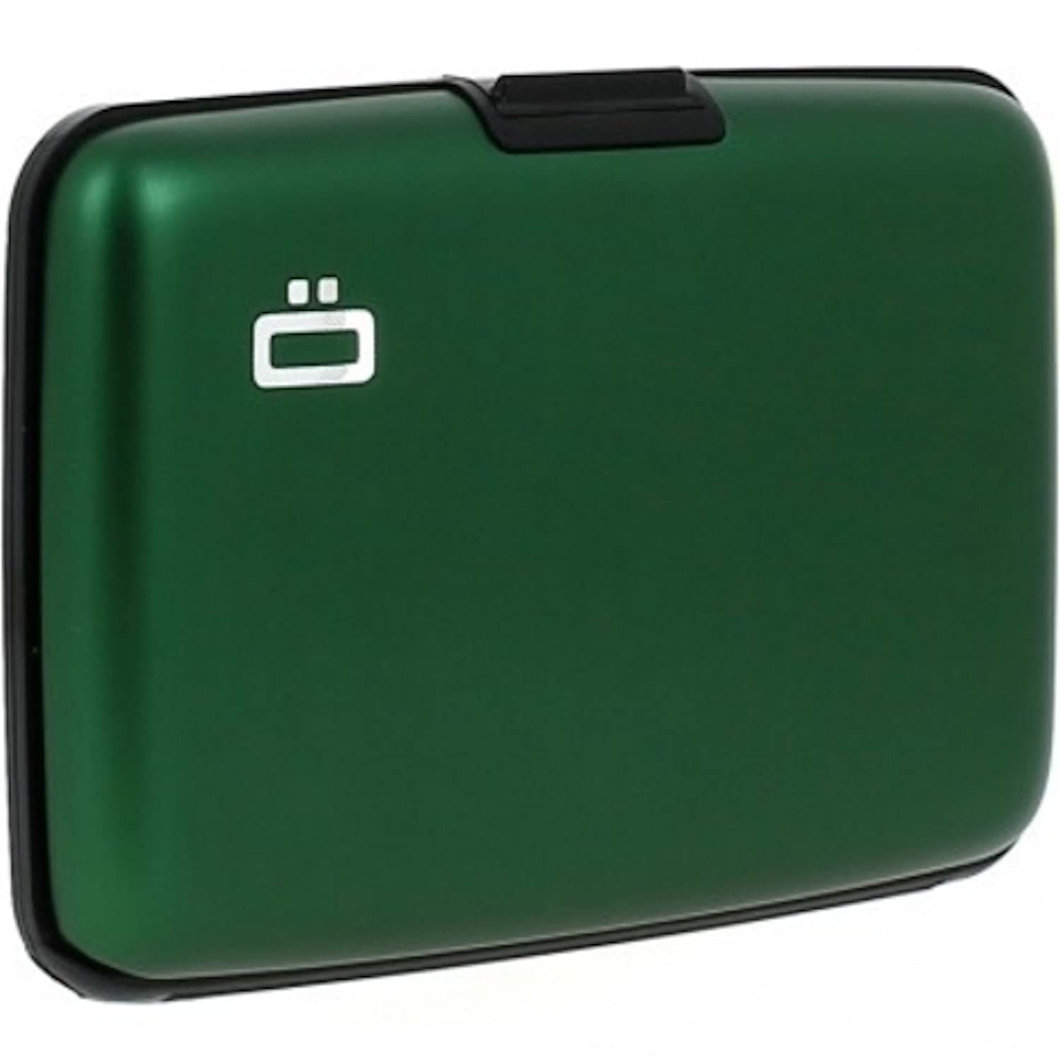 Ogon- Stockholm Green Aluminium credit card holder