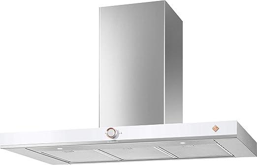 De Dietrich DHB7952W campana extractora de chimenea integrada con clasificación A+, en color blanco: Amazon.es: Hogar