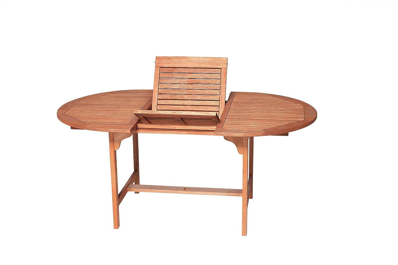 Merxx Gartentisch Aus Holz 100x120cm Ausziehbar Bis 170cm Gunstig Kaufen