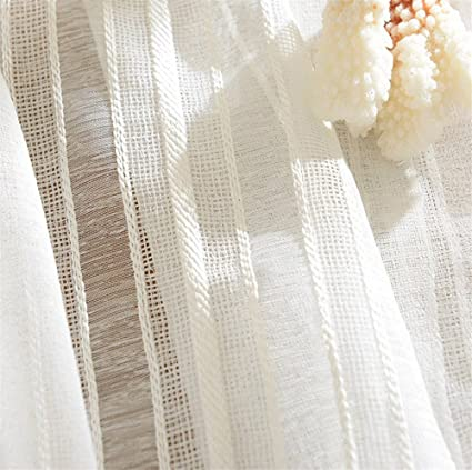 Striped white sheer panel curtains excellent phrase