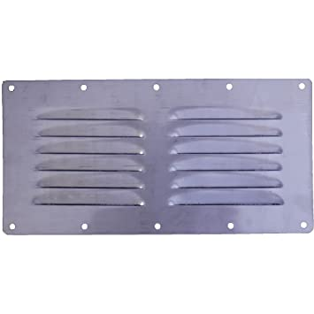ORANGE MARINE Rejilla de ventilación rectangular acero ...