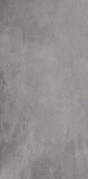 Bodenfliese Titan grau matt im Format 30x60cm aus ...