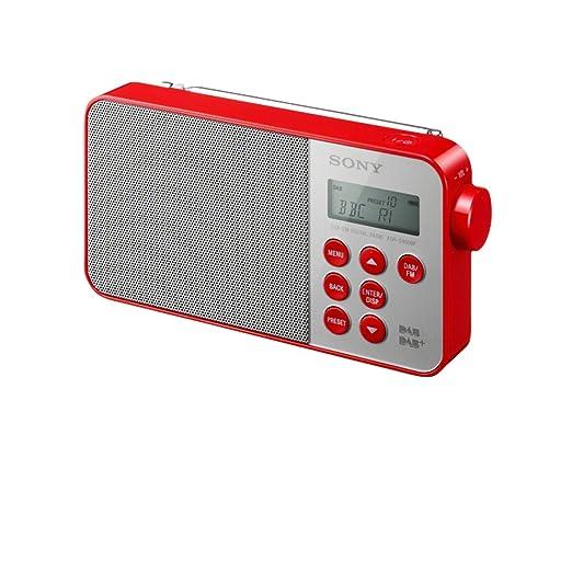143 opinioni per Sony XDR-S40DBP Radio digitale DAB+/DAB/FM, Rosso