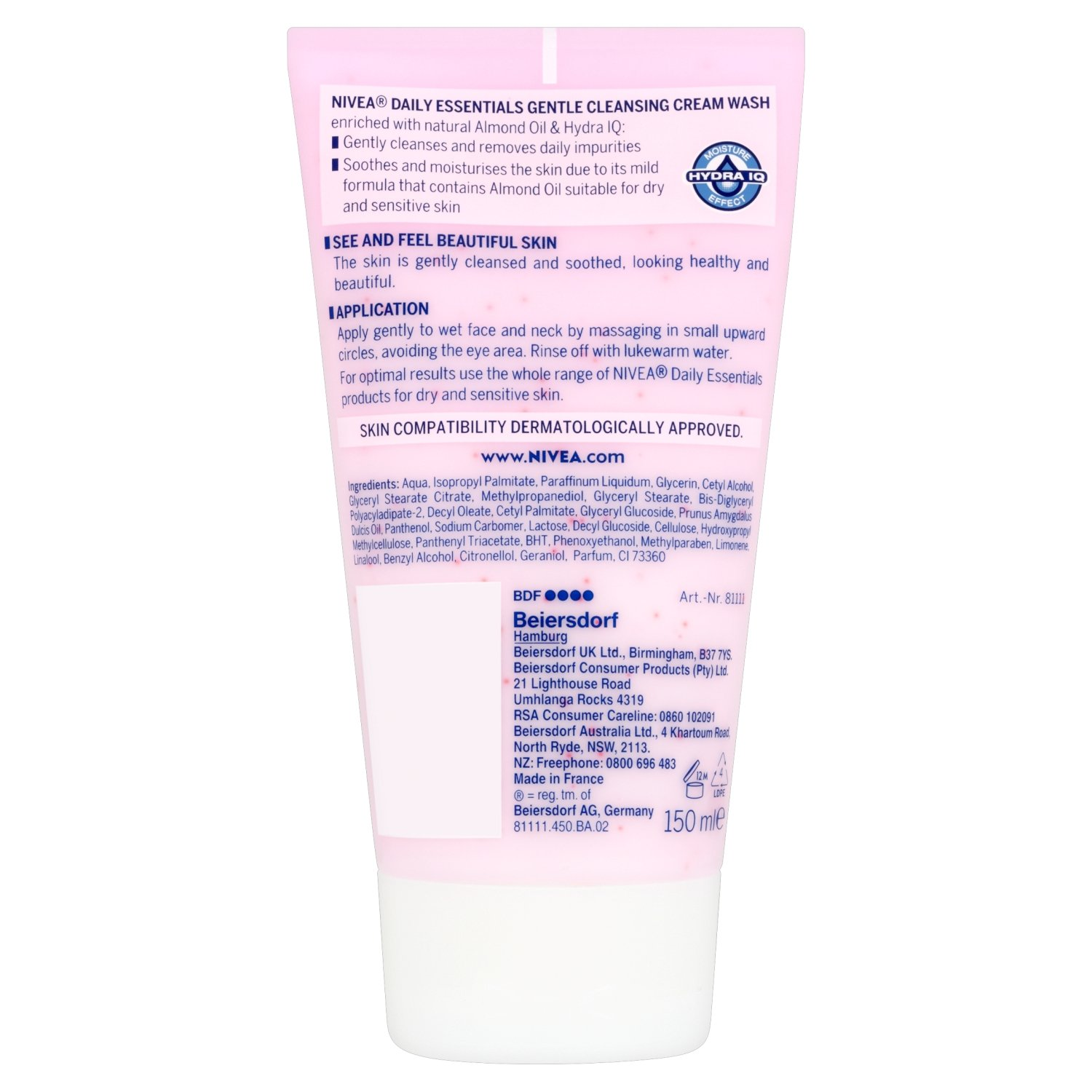 nivea gentle face wash