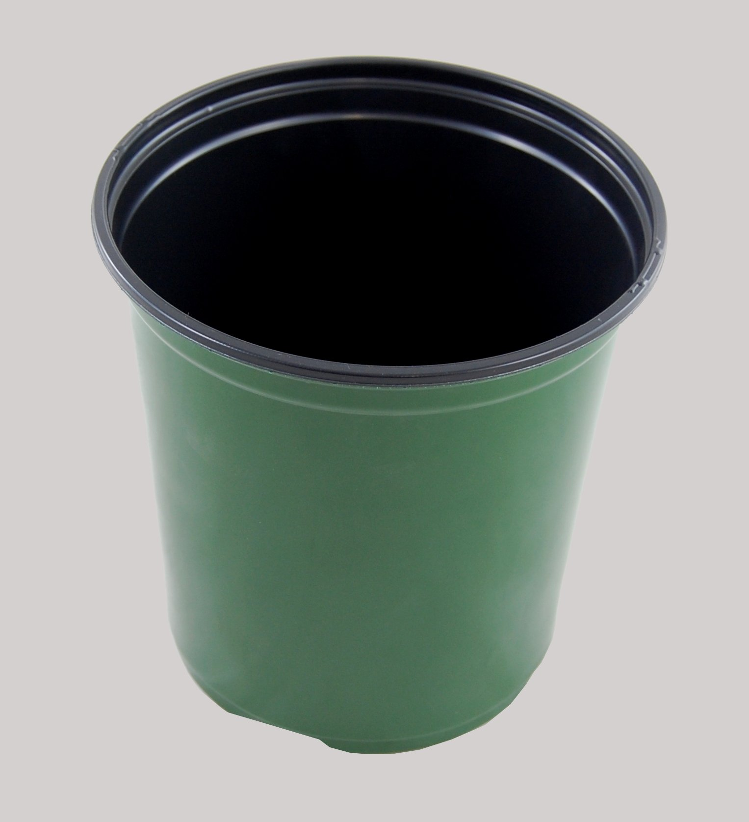 Plastic Nursery 1 Gallon - Plant Flower Pot - Green - 270 Pots By Growers Solution by East Jordon