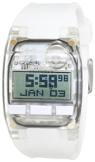 Nixon Reloj para Mujer de con Correa en Silicona A336126-00: Amazon.es: Relojes