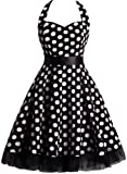 Amazon Price History for:OTEN Women's Floral Vintage 1950s Halter Rockabilly Gown Cocktail Party Dress