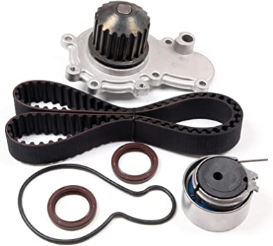 AUTOMUTO Timing Belt Kit TCKWP245B TBK245 WP120-1300 Compatible for 2000 Cirrus 1995-2005 Dodge Neon 1995-2000 Dodge Stratus 1996-2000 Plymouth Breeze