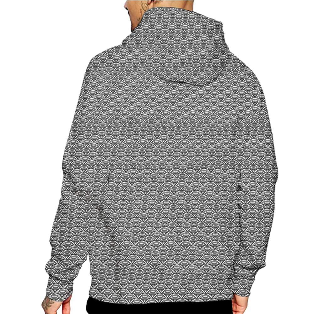 Hoodies Sweatshirt/ Men 3D Print Geometric,Chevron Style Triangles,Sweatshirts for Men Prime