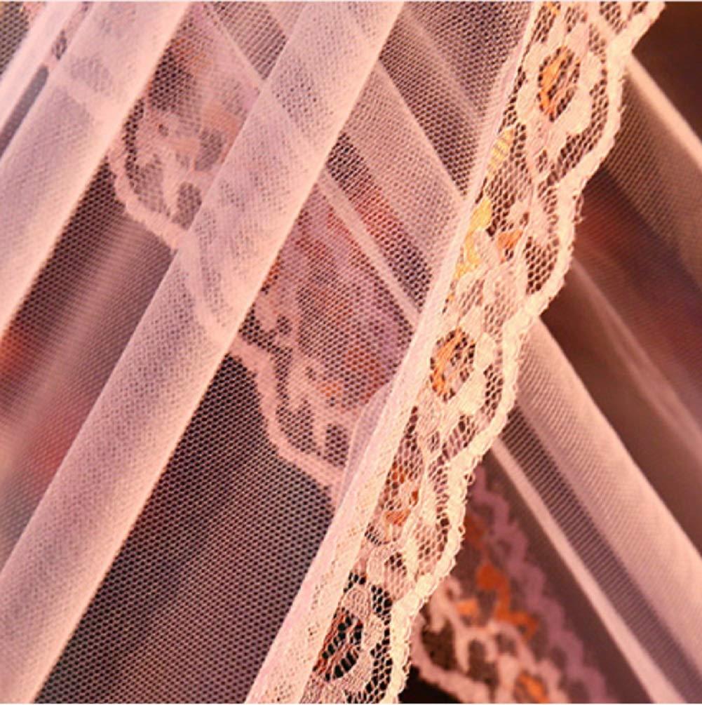 KE & LE Hanging Mosquito Net, Mosquito Net for Crib Baby Crib Net Folding Design with Bottom-b W:180cmxh:195cmxd:200cm by KE & LE (Image #5)