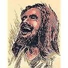 Laughing Jesus Original Print (12 x 16)
