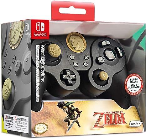 Manette filaire - Nintendo Switch - Link Super Smash Bros [Importación francesa]: Amazon.es: Videojuegos