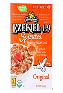 Food For Life, Cereal Sprouted Flakes Original Organic, 14 Ounce