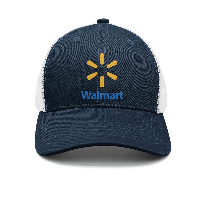 UONDLWHER Adjustable Unisex Walmart-Supermarket-Logo Cap Plain Baseball Hat