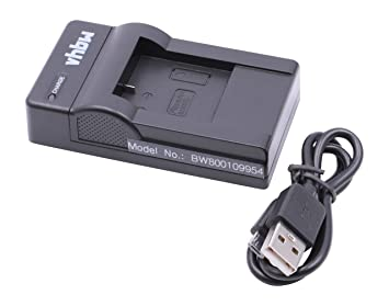 Cargador Micro USB vhbw para cámara Sjcam SJ5000X, SJ7000 ...