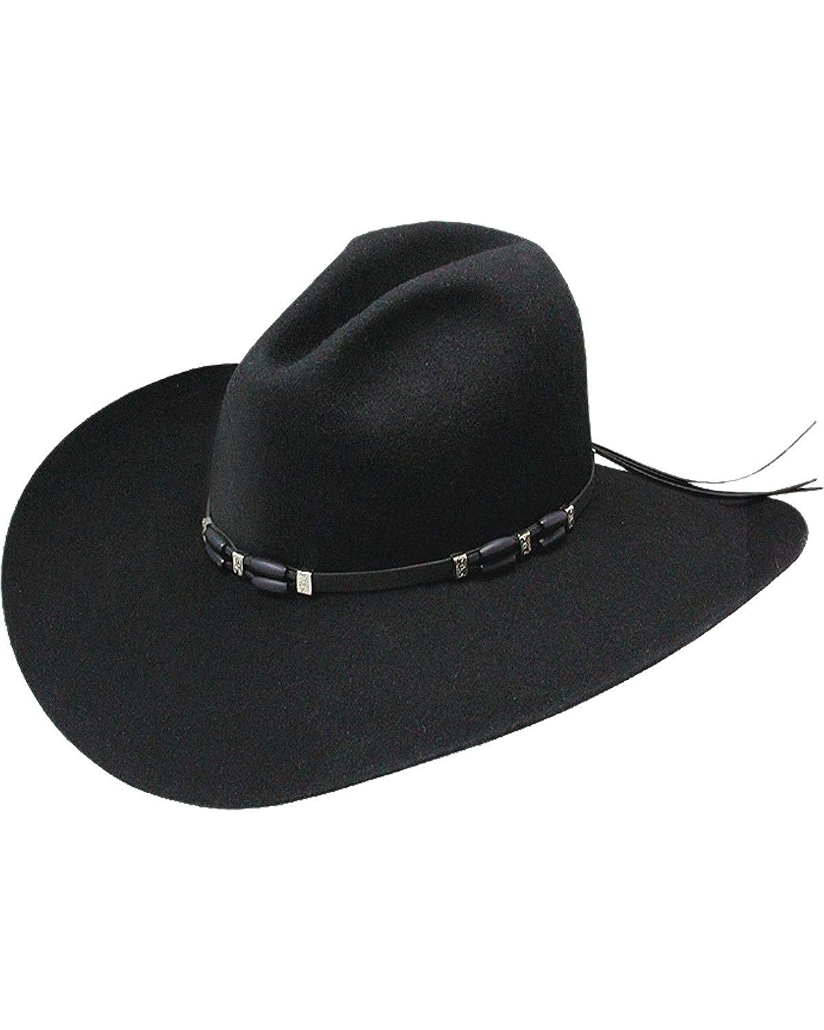 f0e030876 Resistol Men's 2X Cisco Felt Cowboy Hat