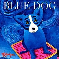 Blue Dog 2019 Calendar