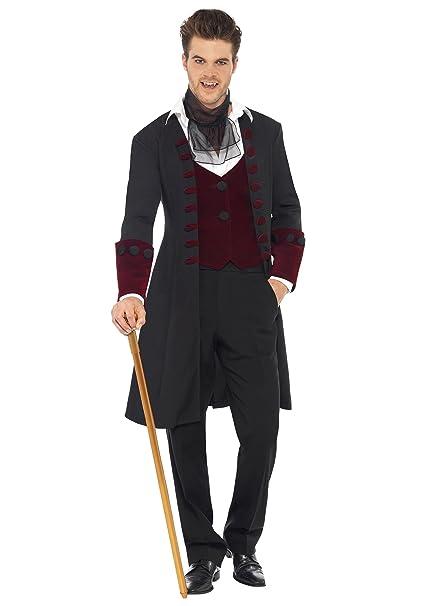 Travestimenti Halloween Uomo.Costume Prince Of Darkness Vampire M Fever Costumi Halloween Uomo