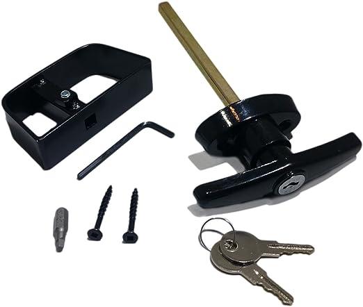 Amazon.com: Kit de cerradura para puerta de cobertizo ...