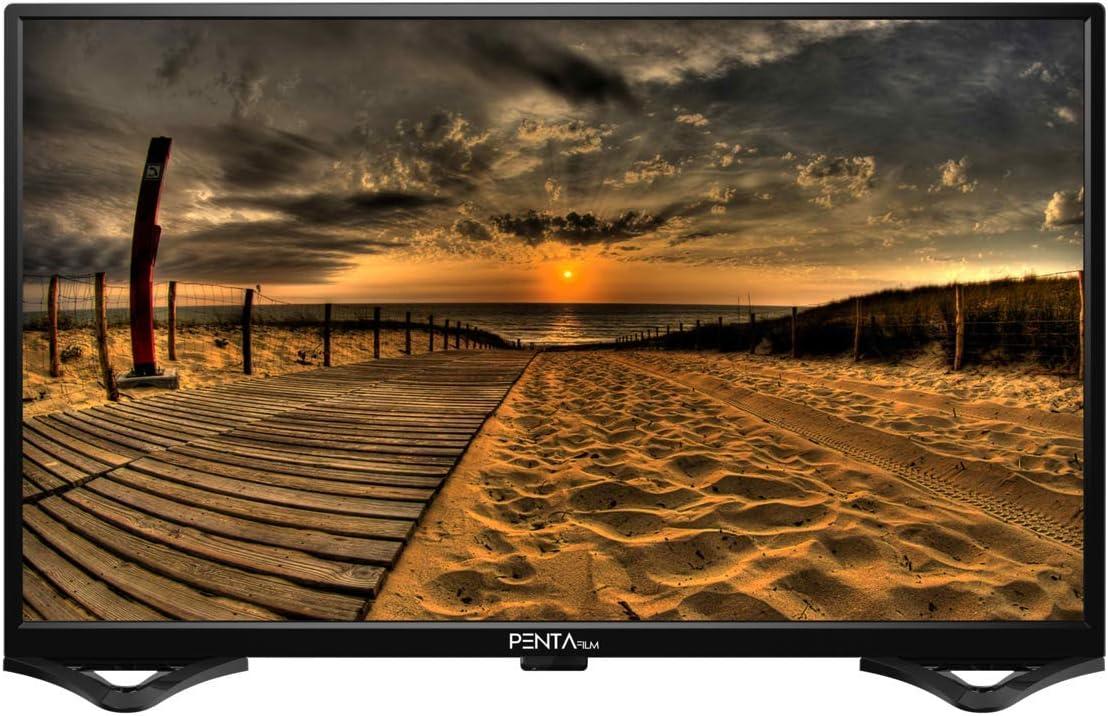 PENTAFILM - Televisión LED de 40 Pulgadas, Full HD 1080, HDMI, USB, TDT HD T2 Integrado: Amazon.es: Electrónica
