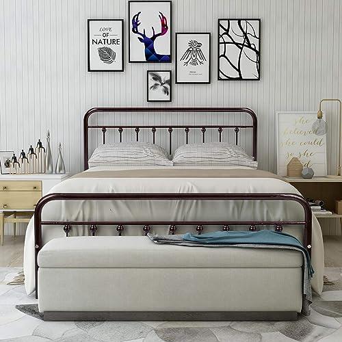 Wrought Iron Bed Amazon Com