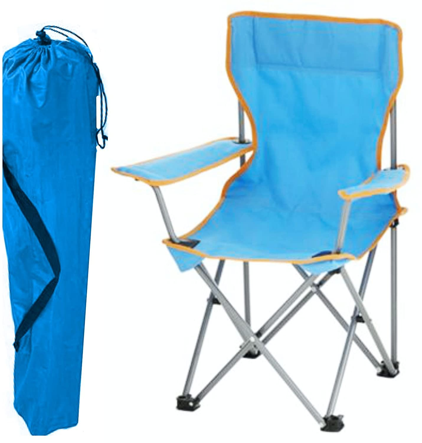Awesome Kids Childrens Folding Camping Chair Fishing Hiking Picnic Garden Collapsible Outdoor With Carrying Bag By Tesco Pdpeps Interior Chair Design Pdpepsorg