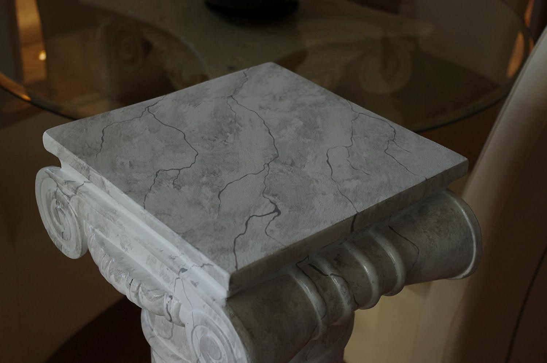 Decorative Flower Stand Roman Marble Design Decorative Column