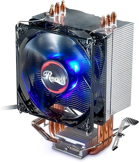 CPU Heatsink Cooler Fan for Intel Core Duo LGA1151 775 1155 AMD AM2//AM3//FM1//FM2