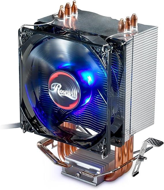 CPU Cooler with PWM CPU Cooling Fan & 3 Direct Contact CPU Heatsink Pipes Support Intel i3/i5/i7 CPU Socket LGA 775/1366/1150/1151/1155/1156 & AMD CPU FM1/FM2/FM2+/AM2/AM2+/AM3/AM3+/AM4