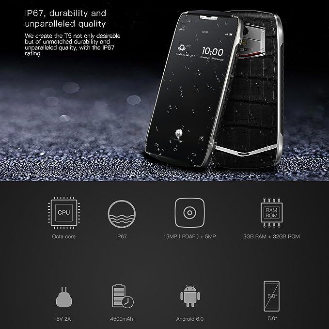 DOOGEE T5 Teléfonos Móviles Libres Baratos- 4G LTE Smartphone ...