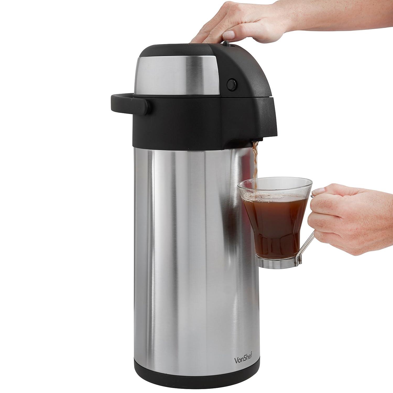 VonShef Thermal Airpot Beverage Dispenser 5 L Home Garden  : 71qvkMQ4mILSL1500 from www.bta-mall.com size 1500 x 1500 jpeg 132kB