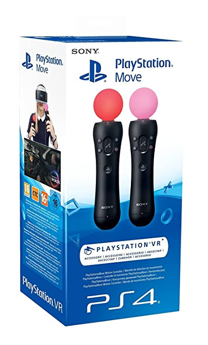 15 opinioni per PlayStation 4- PlayStation Move Twin Pack
