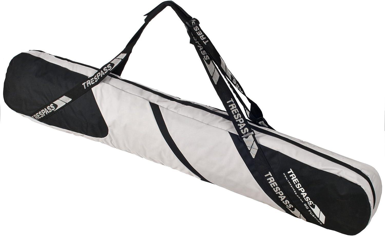 Trespass Tomb Fully Padded Black Snowboard Bag with Shoulder Rucksack Straps
