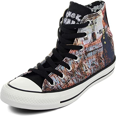 daa78d3b41f700 Converse Unisex Chuck Taylor All Star Black Sabbath Signature Sneaker (10  Men Women 12