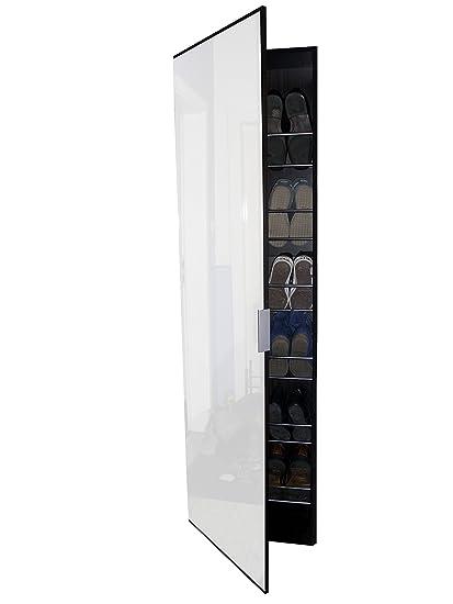 Magnificent Shoe Mirror Tall Shoe Rack Storage Cabinet Cupboard Amazon Download Free Architecture Designs Grimeyleaguecom