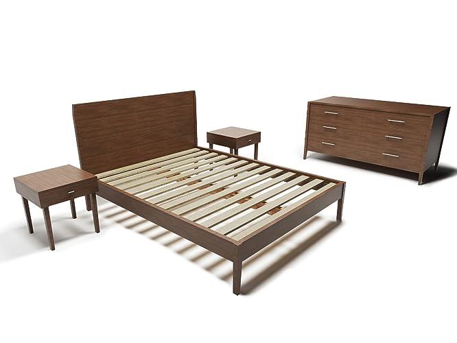 mid century modern 5 piece bedroom furniture set - Mid Century Modern Bedroom Set