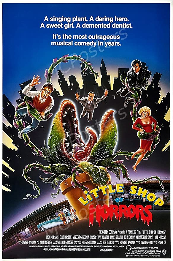 Little Shop Of Horrors movie poster print 11 x 17 inches Steve Martin b