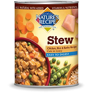 Natures recipe easy to digest wet dog food chicken rice natures recipe easy to digest wet dog food chicken rice barley recipe cuts forumfinder Choice Image