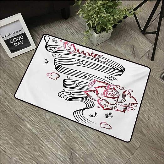 HRoomDecor Tattoo - Felpudo de Goma con diseño de Cabeza de Tigre ...