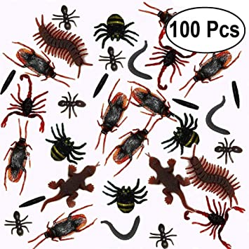 Parfaite comme sac de fête /& Bug chasse parties insectes JOUET EN PLASTIQUE insectes