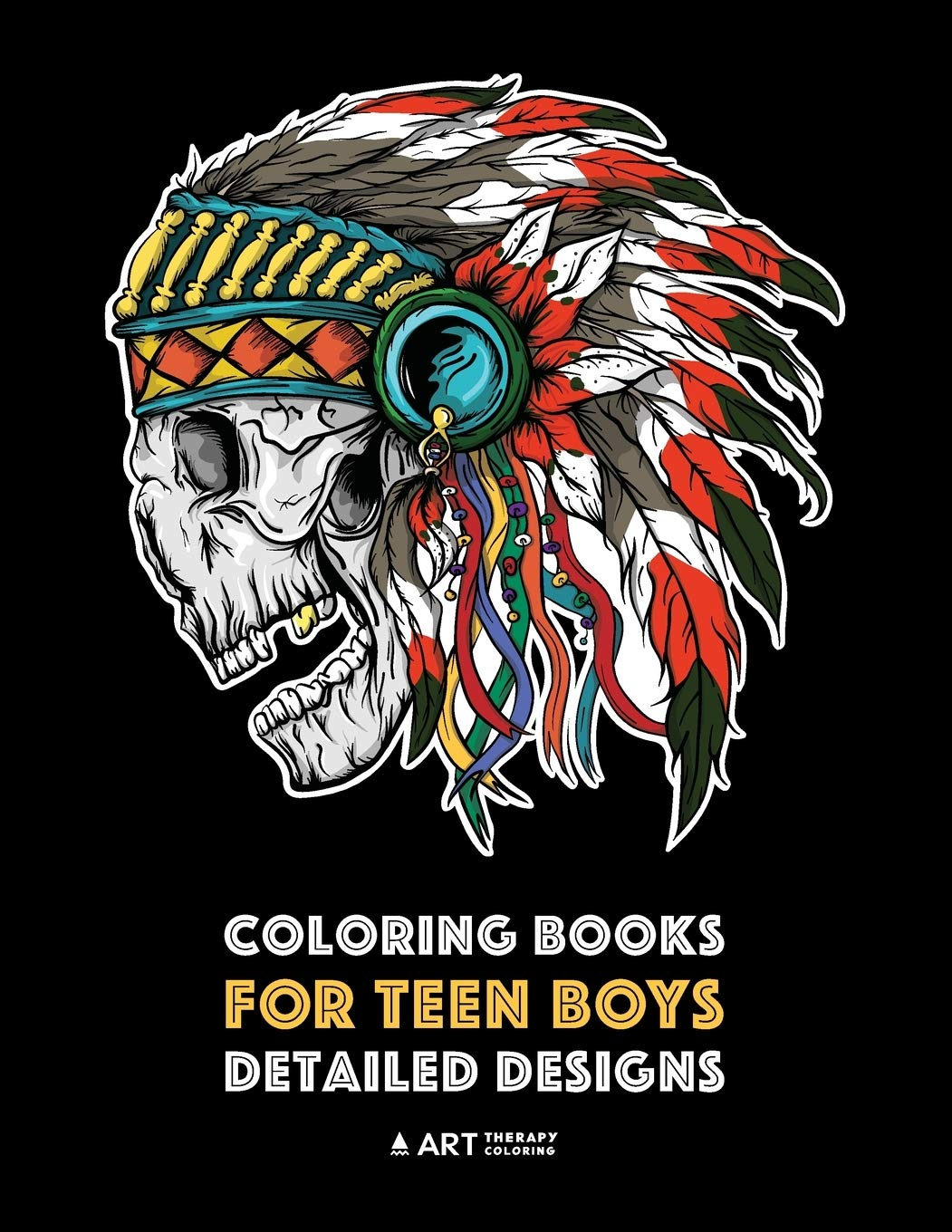 Coloring Books For Teen Boys Detailed Designs Complex Drawings For Teenagers Older Boys Zendoodle Lions Tigers Dragons Snakes Skulls Geometric Patterns Art Therapy Coloring 9781641260312 Amazon Com Books
