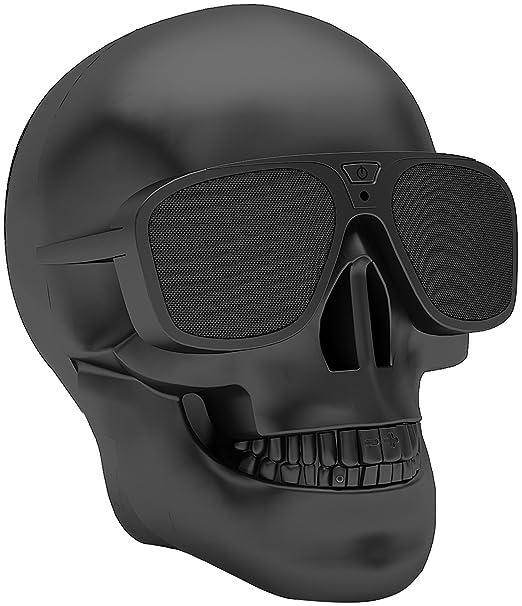 5 opinioni per Veemoo Cranio Senza fili Bluetooth Altoparlante Supporto AUX NFC 4000mAh