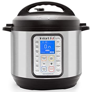 Instant Pot duo plus 9-in-1 electric cooker with 15 one-touch programs