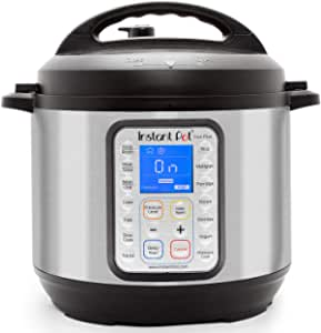 Instant Pot Duo Plus 9-in-1 Electric Pressure Cooker, Sterilizer, Slow Cooker, Rice Cooker, Steamer, Saute, Yogurt Maker, and Warmer, 8 Quart, 15 One-Touch Programs