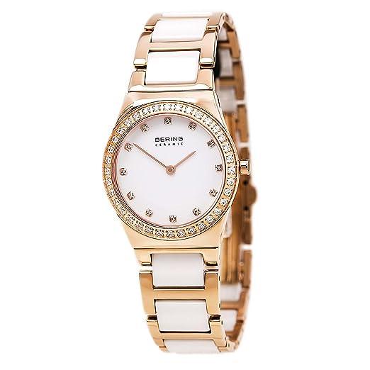 BERING Reloj Analógico para Mujer de Cuarzo con Correa en Acero Inoxidable 32430-761: Amazon.es: Relojes