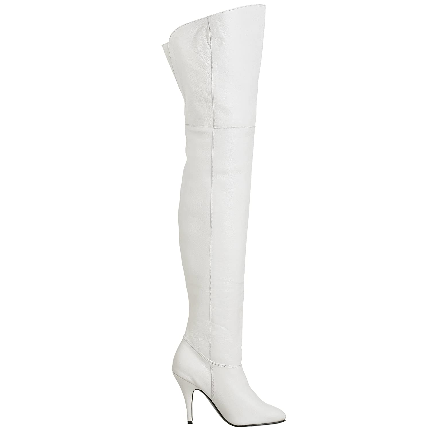 b909b8cc236 Pleaser Women s LEGEND-8868 Unlined classic over-knee boots