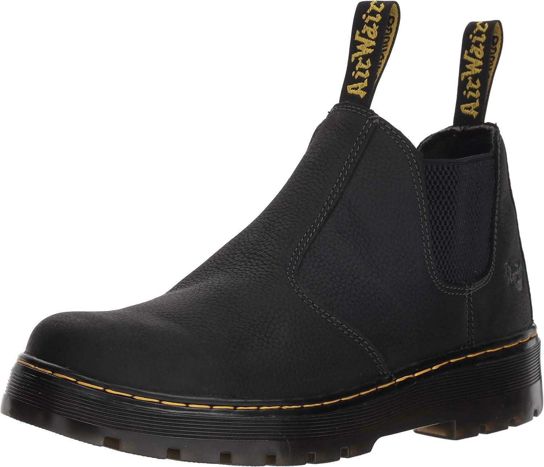 Dr. Martens Men's Hardie Boot, Black